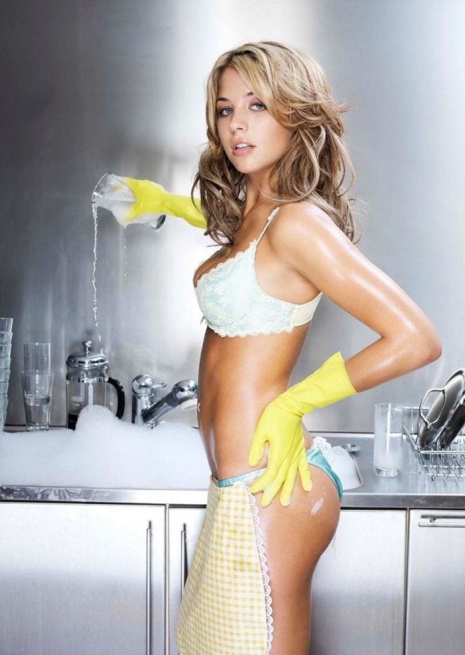 chores-yellow gloves